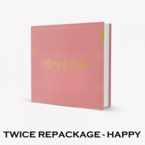 [Instock] TWICE 1ST ALBUM REPACKAGE - [MERRY&HAPPY]