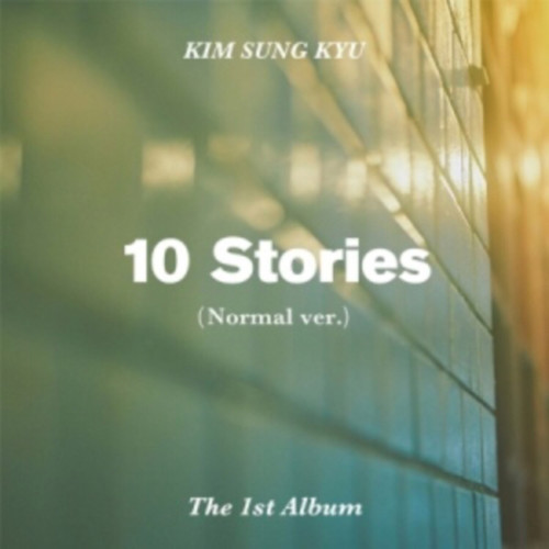 [Inc EMS] KIM SUNG KYU 1ST ALBUM - 10 STORIES (NOMAL VER)