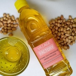 GroundnutPeanut Oil 500ml -Wood pressed , Chemical free-Organic