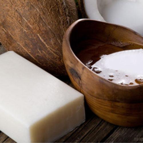 Natural Skin Soap - Coconut Oil - 2 Nos Each 75gm