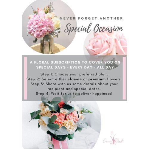 Floral Subscription Premium