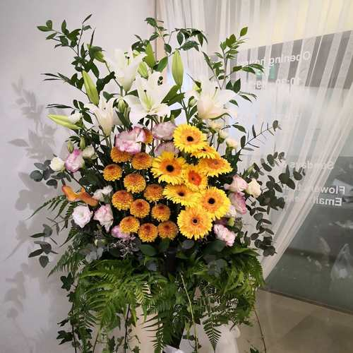 Flower Stand (Condolences)