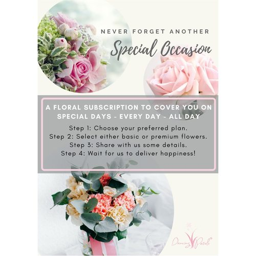 Floral Subscription (4 occasions)