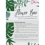 Floral Bar | 4 hours