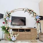 Wedding Arch   Circle of Love