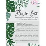 Floral Bar  2 hours