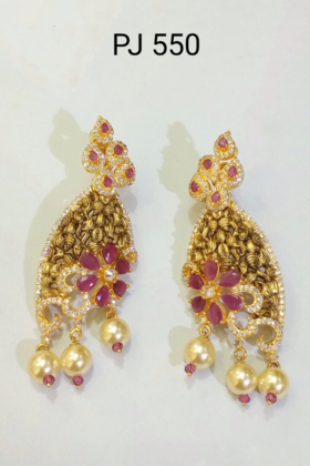 Cubic Zirconia Antique Earrings