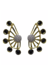 Cubic Zirconia Earcuff Earrings
