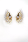 Cubic Zirconia Earcuff Earrings
