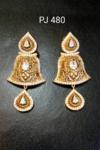 Cubic Zirconia Antique Earrings