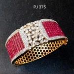Cubic Zirconia Bracelet (Openable)