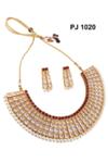 Kundan C.Z Necklace Set