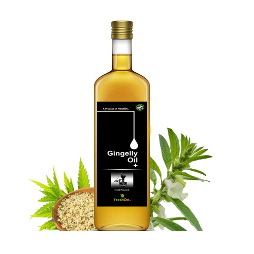 SESAME OIL+ Cold Pressed  (ಎಳ್ಳಿನ ಎಣ್ಣೆ) - 750 ml (Glass Bottle)