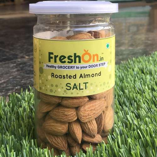ALMOND Roasted - SALT - 170 Gms (Gross 200 Gms)