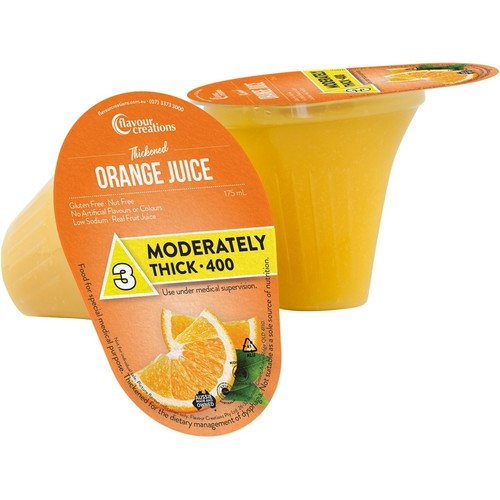 Orange Juice Level 3 Moderately Thick 400