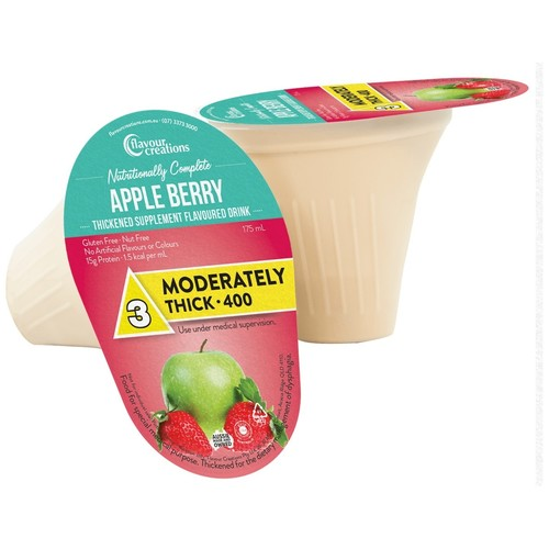 Nutritionally Complete Apple Berry Level 3 Moderately Thick 400