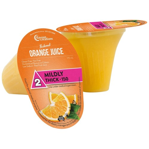 Orange Juice Level 2 Mildly Thick 150