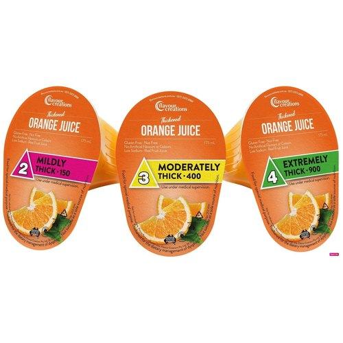 Orange Juice Level 3 Moderately Thick 400