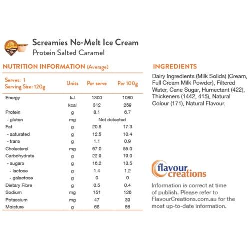 Screamies Protein Salted Caramel