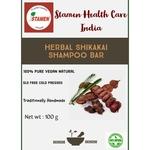 Herbal Shikakai Shampoo Bar - 100g