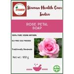 Herbal Rose Petal Soap - 100g