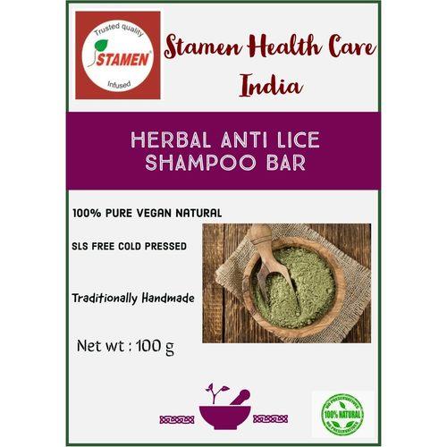 Herbal Anti Lice Shampoo Bar - 100g