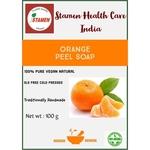 Herbal Orange Peel Soap - 100g