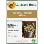Vengaya - Onion Vadam