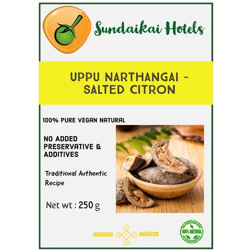 Uppu Narthangai ( salted citron )