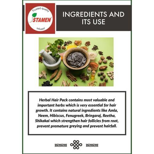 Herbal Hair Pack Mix Powder - 100g