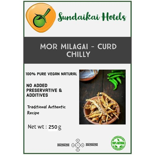 Mor Milagai - Curd Chilly