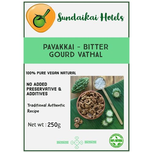 Pavakkai - Bitter Gourd Vathal