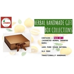 Hand Made Herbal Gift Box - Pack of 3 - Assorted Shampoo Bar