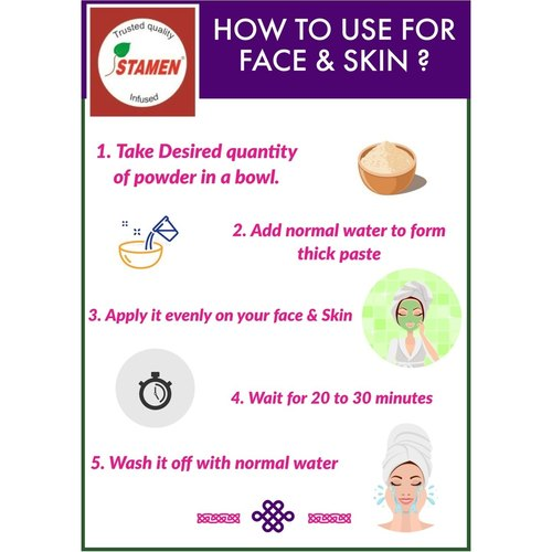 Herbal Skin Brightening Face Wash Powder 100g