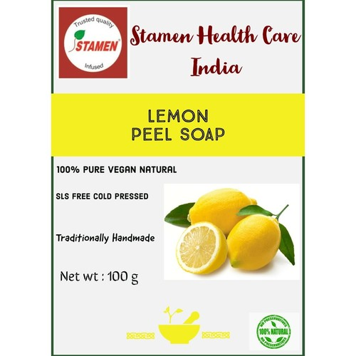 Herbal Lemon Peel Soap - 100g