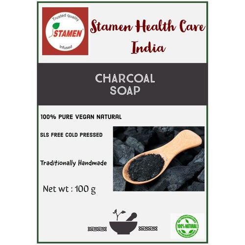 Herbal Charcoal Soap - 100g