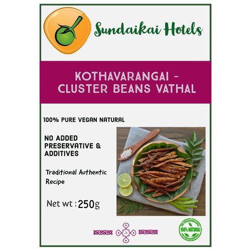 Kothavarangai - Cluster Bean Vathal
