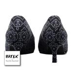 BATEK LOW HEELS - CS02 - BLACK DOKOH