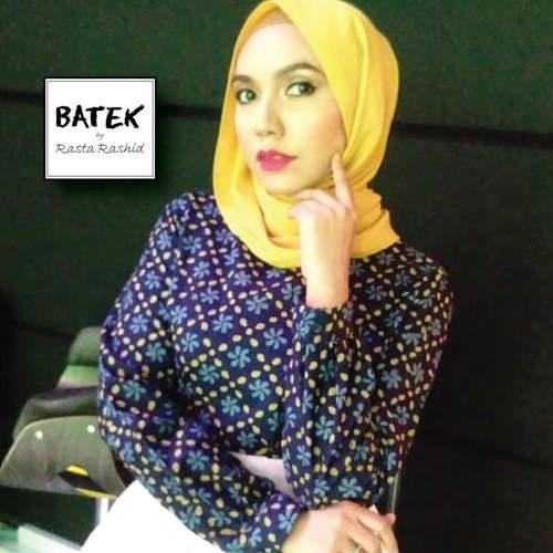 BATEK WOMEN'S BLOUSE TOP - HF01 - BLUE GREEN