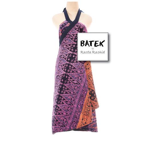 PUCUNG REBUNG WOMEN'S WRAP DRESSES - BF02 - ORANGE