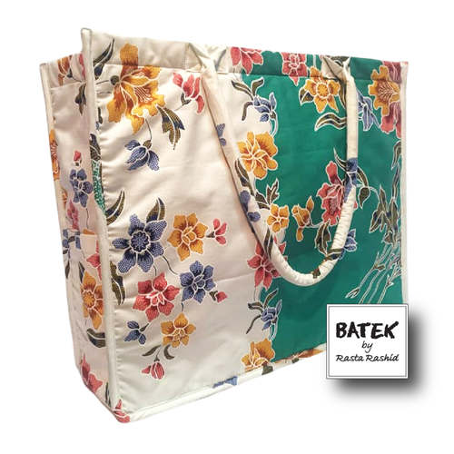 ALL PURPOSE BATEK BAG - IS16 - GREEN WHITE