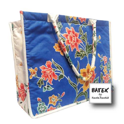 ALL PURPOSE BATEK BAG - IS15 - BLUE LAGOON