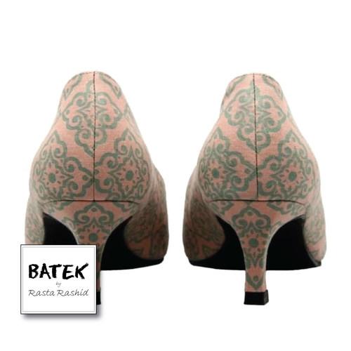 BATEK LOW HEELS - CS03 - DUSTY PINK DOKOH