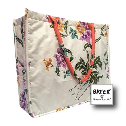 ALL PURPOSE BATEK BAG - IS10 - JINGGA WHITE