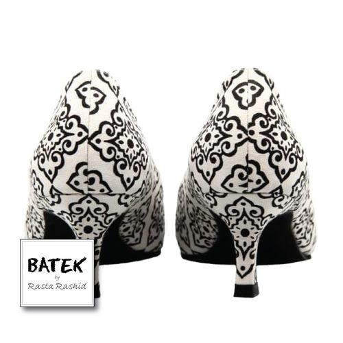 BATEK LOW HEELS - CS01 - WHITE DOKOH