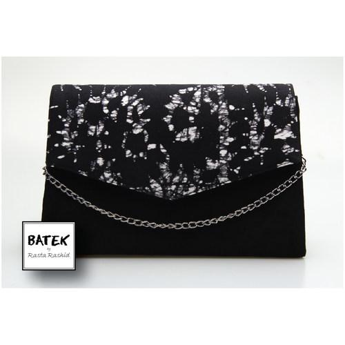 CLUCTH BLACK & WHITE CRACK BIG - HS01