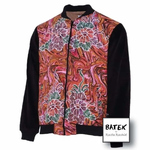 BOMBER JACKET TEENAGER - JF05 - MARBLE PINK
