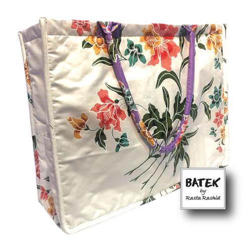 ALL PURPOSE BATEK BAG - IS07 - LILAC