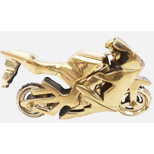 Brass Toy Bike R15 Miniature For Children Playing- 724 iInch  Z328 C