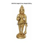 Brass Hanuman Statue Murti idol 0.38 kg - 1.51.55.5 inch  BS1070 B